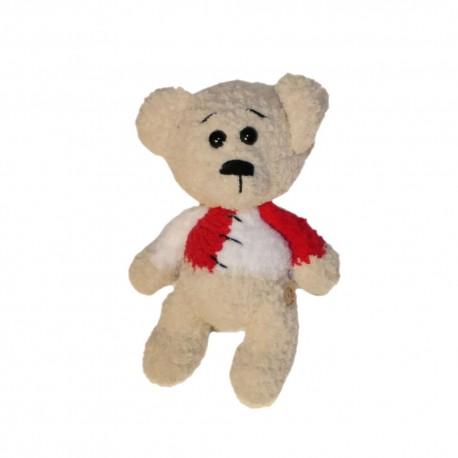 Medvídek ručně háčkovaný 20cm